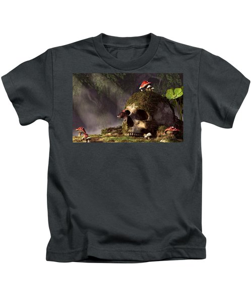 Mouse In A Skull Kids T-Shirt