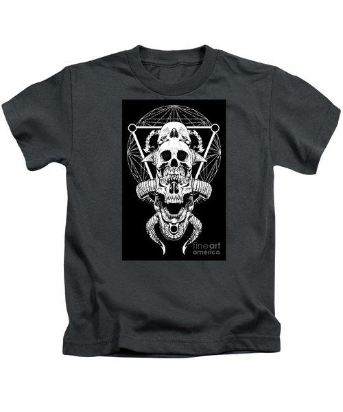 Mouth Of Doom Kids T-Shirt