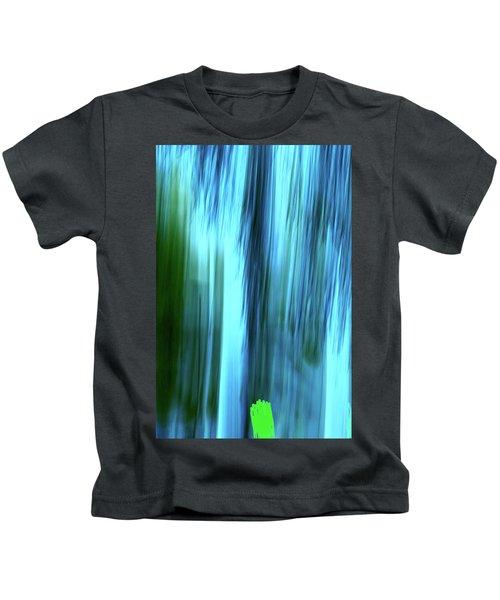 Moving Trees 37-15portrait Format Kids T-Shirt