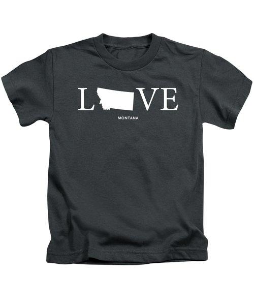 Mt Love Kids T-Shirt by Nancy Ingersoll