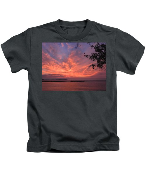 Muscongus Sound Sunrise Kids T-Shirt