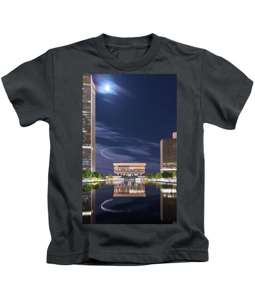 Museum Flyby Kids T-Shirt