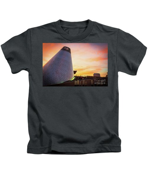 Museum Of Glass Tower#2 Kids T-Shirt