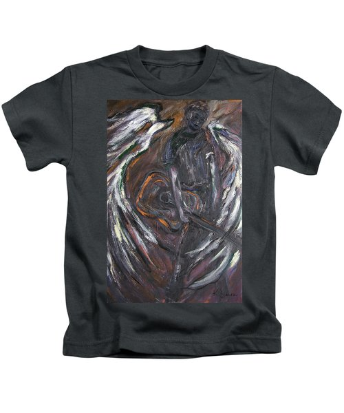 Music Angel Of Broken Wings Kids T-Shirt