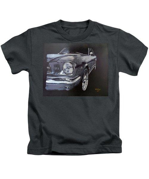 Mustang Front Kids T-Shirt