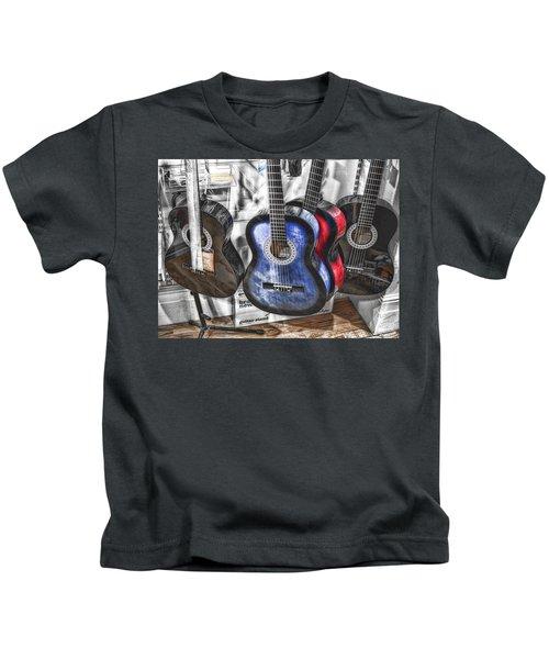 Muted Guitars Kids T-Shirt