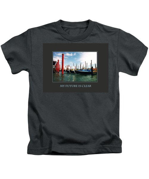My Future Is Clear Kids T-Shirt
