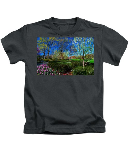 My Garden In Spring Kids T-Shirt