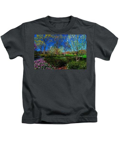 My Garden In Spring Kids T-Shirt