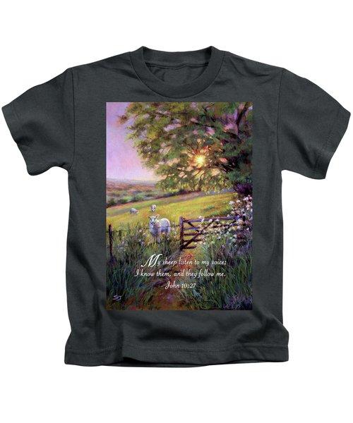 My Sheep Hear My Voice Kids T-Shirt