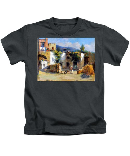 My Uncle Farm House Kids T-Shirt