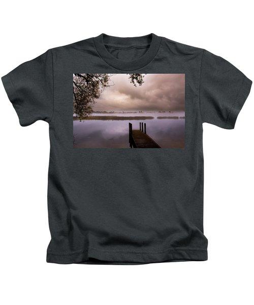 Mystic Morning  Kids T-Shirt