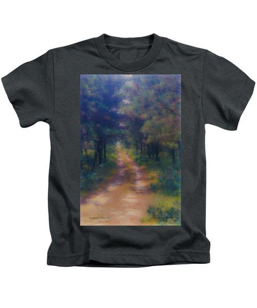 Nantucket Paths #1 Kids T-Shirt