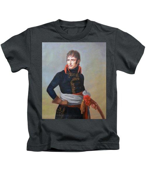 Napoleon Bonaparte As First Consul Kids T-Shirt