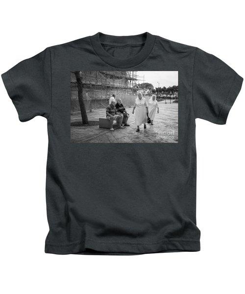 Naughty Boys Kids T-Shirt