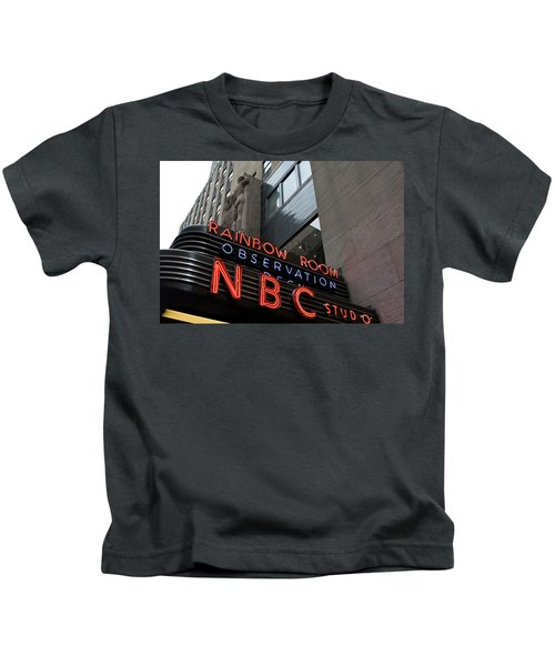 Nbc Studio Rainbow Room Sign Kids T-Shirt