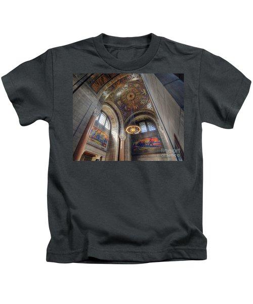 Nebraska State Capitol Kids T-Shirt