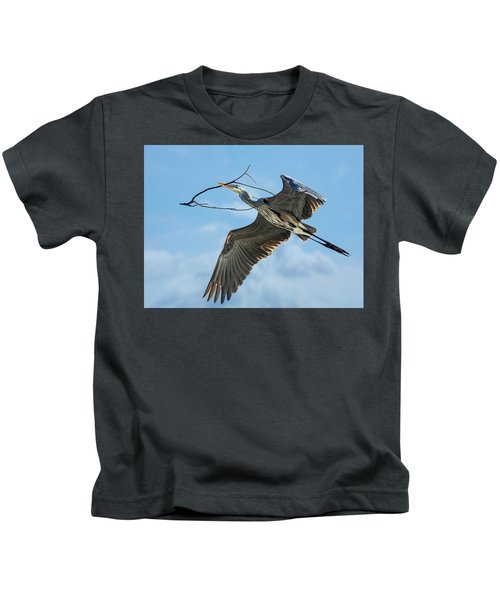 Nest Builder Kids T-Shirt