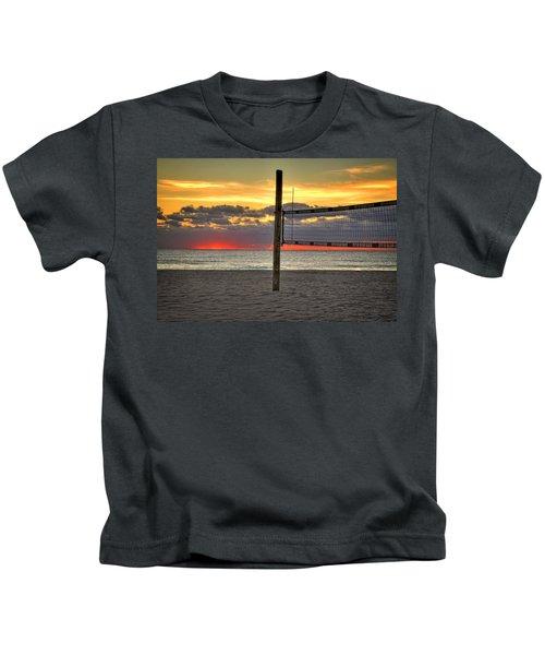 Netting The Sunrise Kids T-Shirt