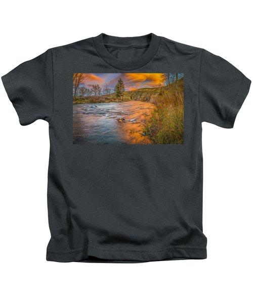Nevada Gold  Kids T-Shirt