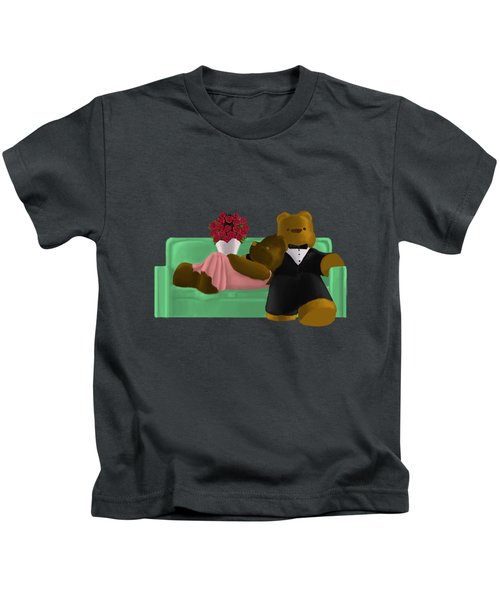 New Couch Kids T-Shirt by Jason Sharpe