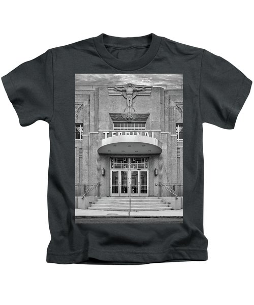 New Orleans Lakefront Airport Bw Kids T-Shirt