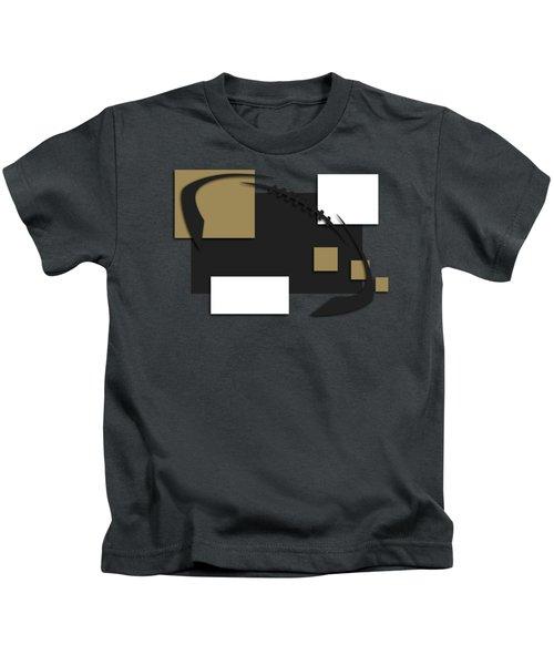 New Orleans Saints Abstract Shirt Kids T-Shirt
