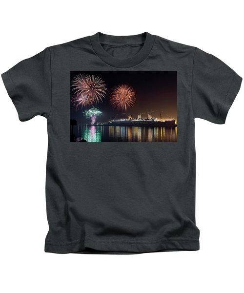 New Years With The Queen Mary Kids T-Shirt