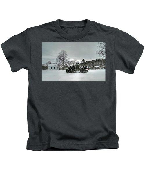 Newbury Lower Green Kids T-Shirt