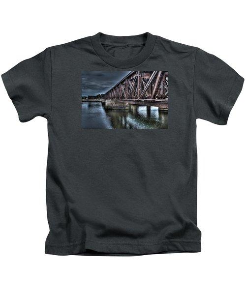 Newburyport Train Trestle Creative Kids T-Shirt