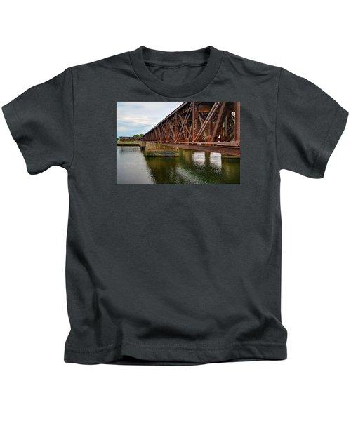 Newburyport Train Trestle Kids T-Shirt