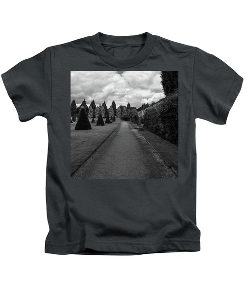 Newstead Abbey Country Garden Gravel Path Kids T-Shirt