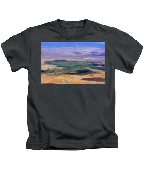 Ngorongoro Crater Tanzania Kids T-Shirt