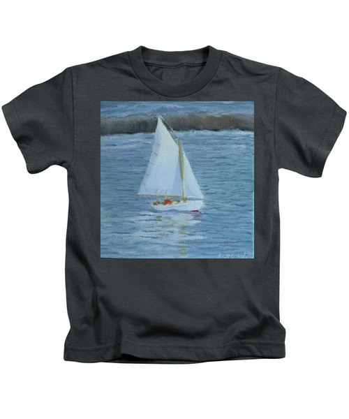 Nice Day For A Sail Kids T-Shirt