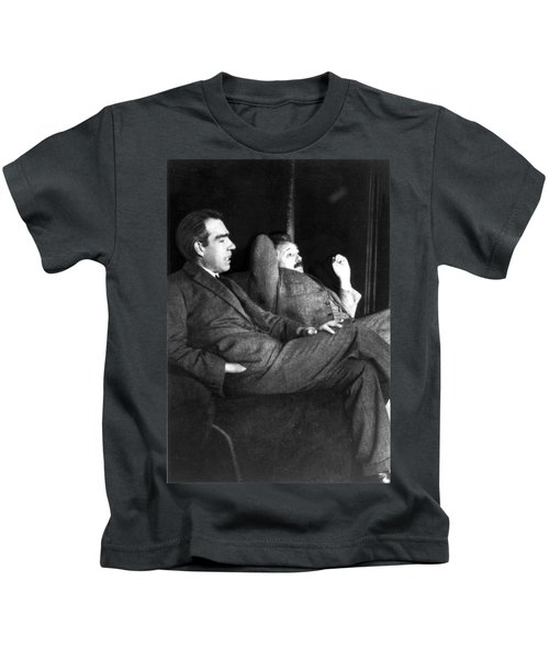 Niels Bohr And Albert Einstein Kids T-Shirt