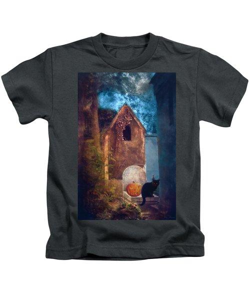 Night Of Halloween Kids T-Shirt