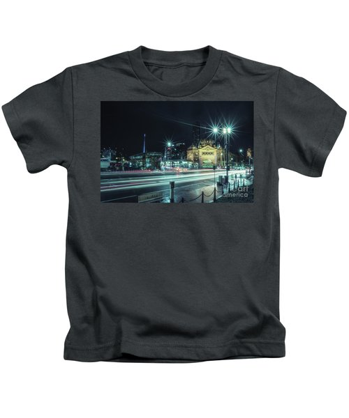 Night Ride Kids T-Shirt