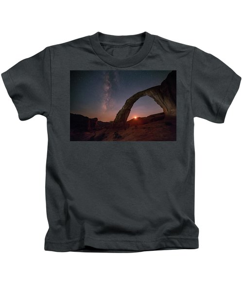 Night Sky At Corona Ach Kids T-Shirt