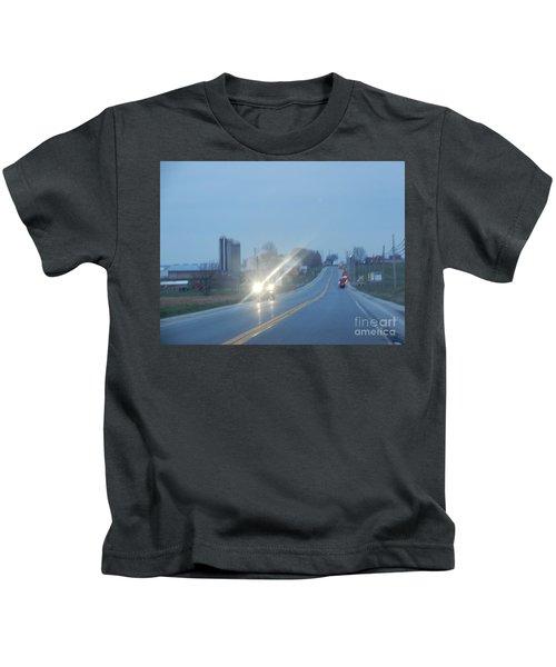 Nightime Travel Kids T-Shirt