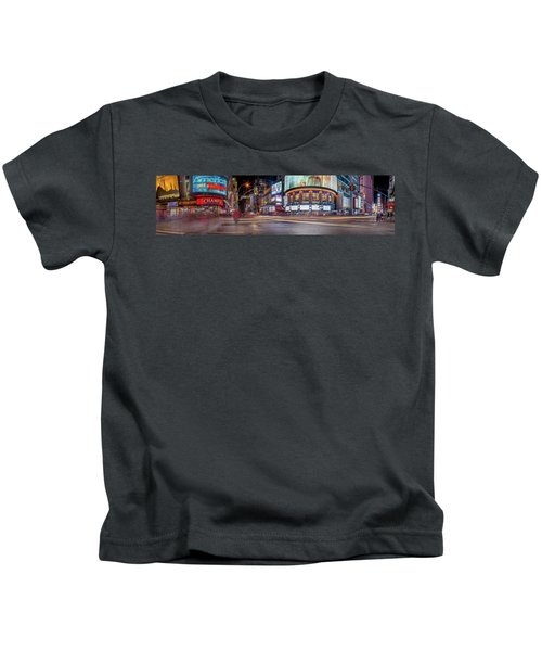 Nights On Broadway Kids T-Shirt