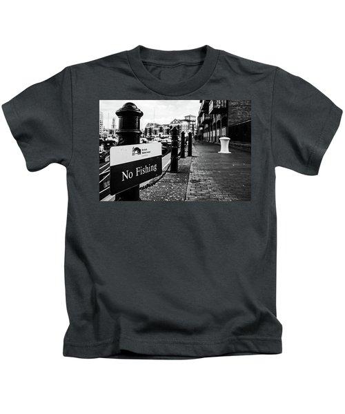 No Fishing Kids T-Shirt