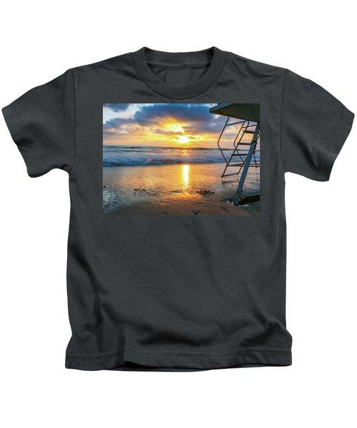 No Lifeguard On Duty Kids T-Shirt