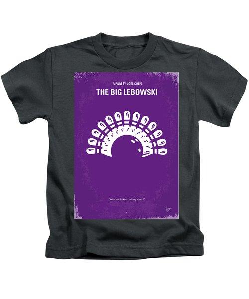 No010 My Big Lebowski Minimal Movie Poster Kids T-Shirt