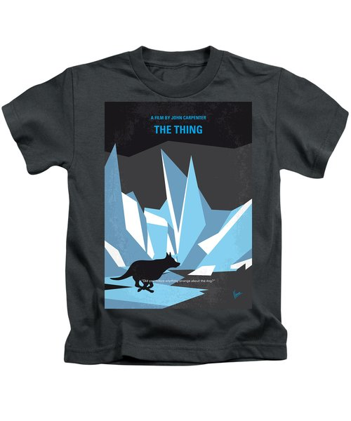 No466 My The Thing Minimal Movie Poster Kids T-Shirt
