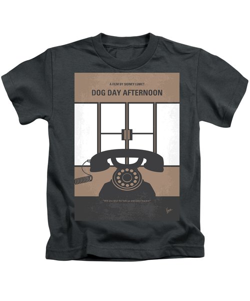 No479 My Dog Day Afternoon Minimal Movie Poster Kids T-Shirt