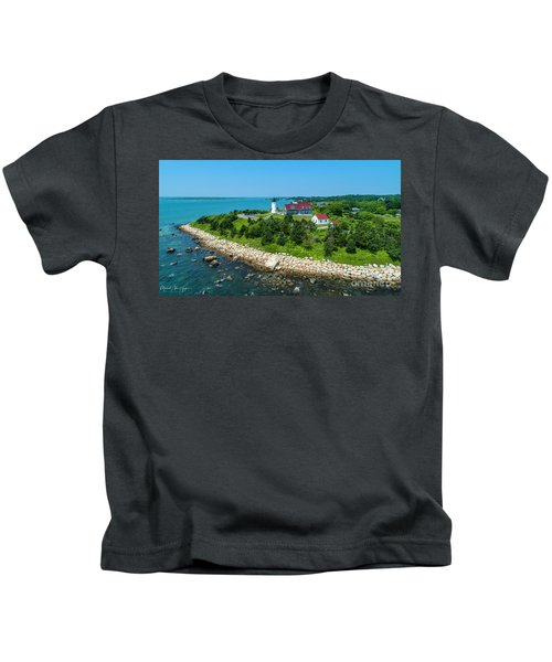 Nobska Lighthouse Kids T-Shirt