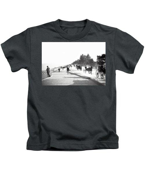 North Lake Shore Drive - Chicago 1905 Kids T-Shirt
