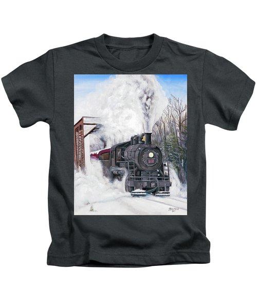 Northbound At 35 Below Kids T-Shirt
