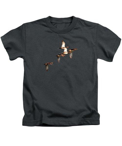 Northern Shoveler Kids T-Shirt