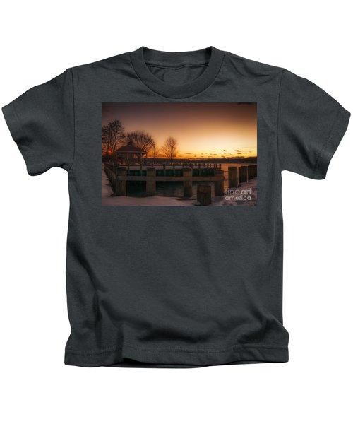 Northport Sunset Kids T-Shirt
